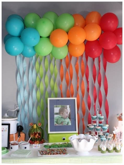 simple decoration ideas easy balloon decorations party favors ideas