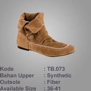 boat shoes bandung bandung brown shoe boot by butik jeans murah