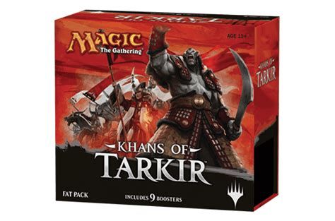 Magic Fatpack Dragons Of Tarkir mtg khans of tarkir pack mtg card and deck sport card retailer