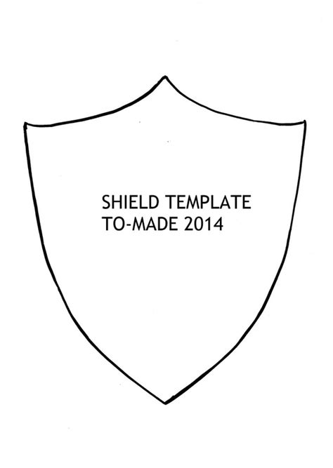 cardboard shield template cardboard shield template image collections template
