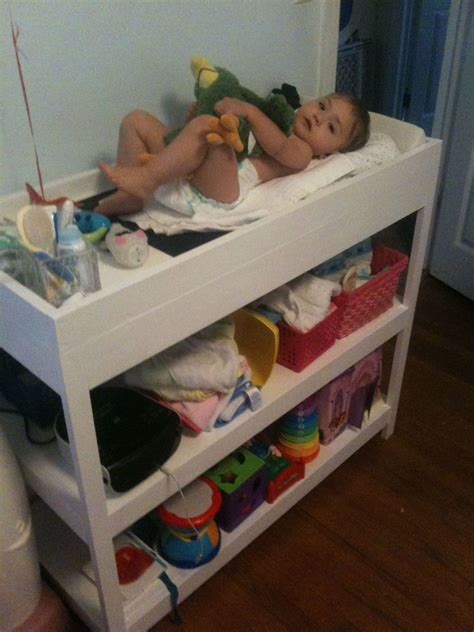 free baby changing table plans