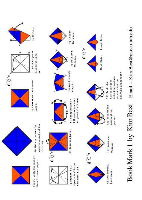 Buku Origami - melipat kertas yuukk origami pembatas buku 1