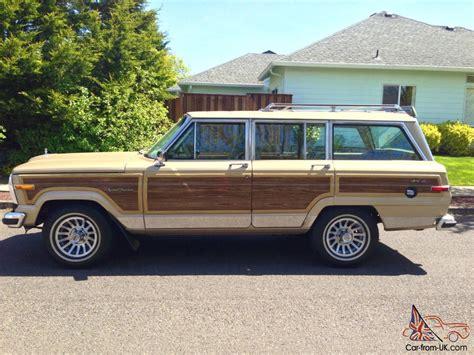 jeep wagoneer 1990 1989 jeep grand wagoneer base sport utility 4 door 5 9l