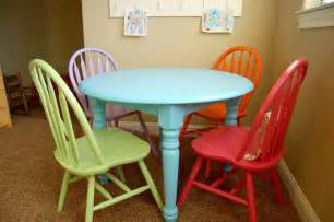 Painting Kitchen Table And Chairs How To Tables Painted Furniture Ideas With Colorful Chairs How To Painted Furniture Ideas