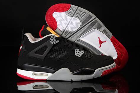 Be Original 4 original air 4 black white shoes with bulls