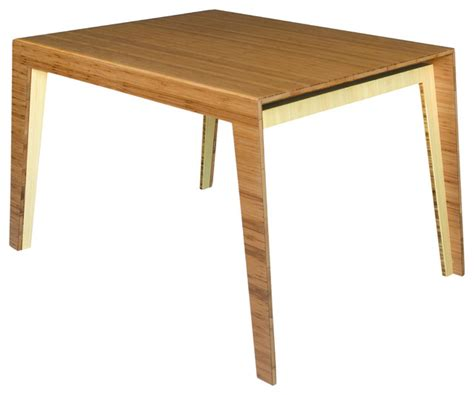 hollow dining table bamboo 4 person