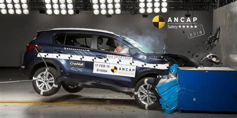 Kia Sportage Safety Kia Sportage Suv To Achieve 2016 Ancap Safety Rating