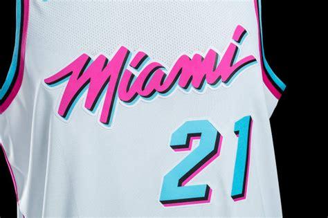 desain jersey miami heat miami heat to debut new miami vice inspired uniforms