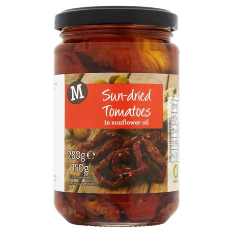 Sun Dried Tomatoes Shelf by Morrisons Morrisons Sundried Tomatoes In Sunflower