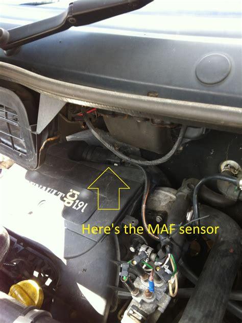 clean change maf sensor  trafic vivaro