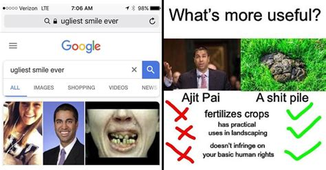 ajit pai smile 20 dank ajit pai memes to enjoy while we still have net