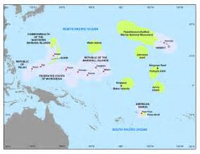 map of us island map of the u s pacific islands region updated pirca
