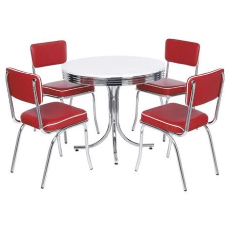 buy rydell 4 seat dining set with chairs from