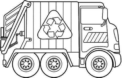 printable coloring pages garbage truck garbage truck coloring pages coloring home