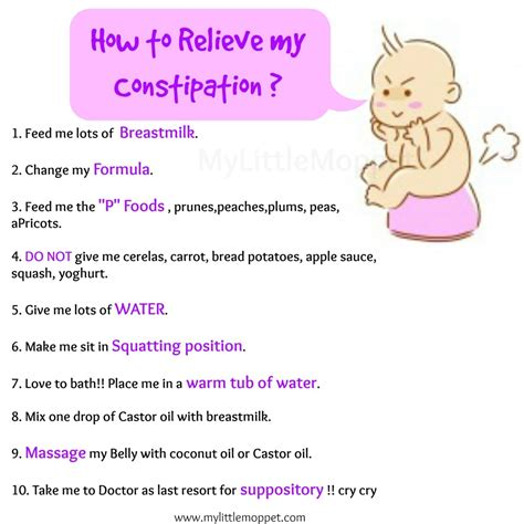 how to relieve constipation 10 amazing ways to relieve constipation in babies my moppet