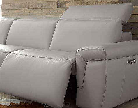M10 Reclining Sectional Sarasota Modern Contemporary Contemporary Sofa Recliner
