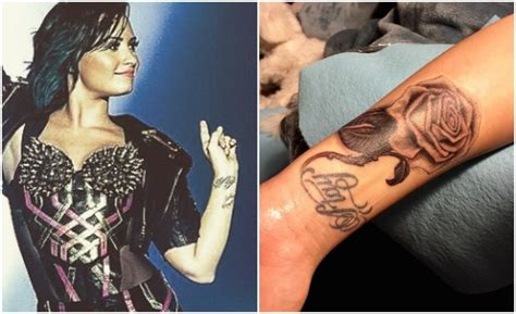 tattoo on vagina demi lovato celebrates 3 years sober covering