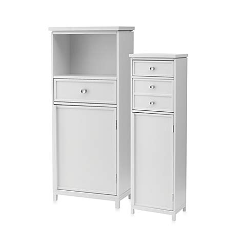 real simple bathroom real simple cabinets bed bath beyond
