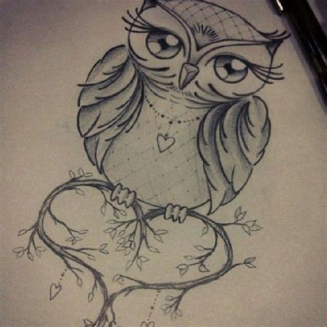 tattoo owl heart 25 best ideas about owl tattoos on pinterest cute owl