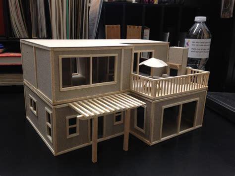 Balsa Wood Dollhouse Plans