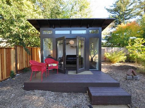 Backyard Shed Cave by Forget The Cave Looks This Stylish Quot She Shed Quot Cave For