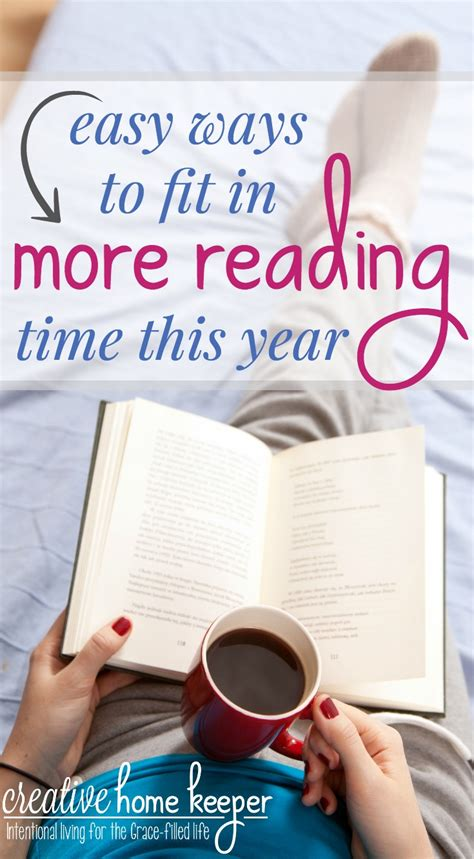 more to a fit books easy ways to fit in more reading time this year creative