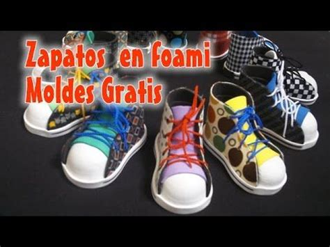 zapatos fofuchas on pinterest converse watches and doll shoes 136 best images about videos de manualidades en foamy on