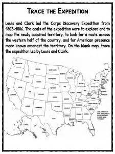 free lewis and clark printable worksheets and coloring lewis and clark coloring page worksheets clarks and