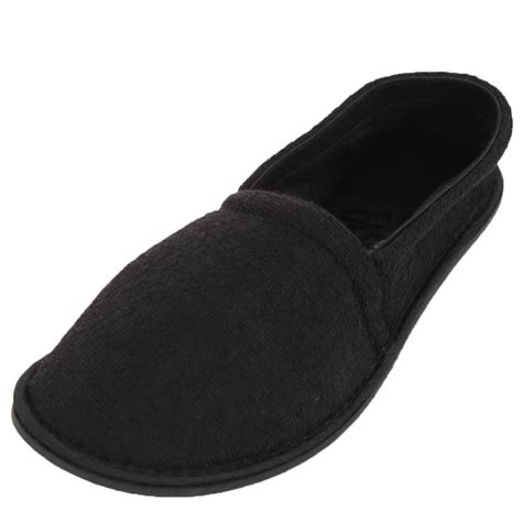 S House Shoes by Mens Slippers House Shoes Terry Slip On Sole