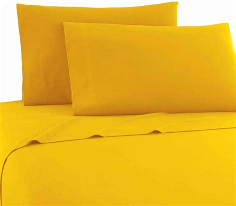 Yellow Bed Sheets sunburst yellow xl sheets micro flannel bedding