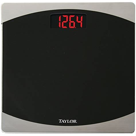 taylor digital bathroom scale taylor glass digital bath scale new free shipping