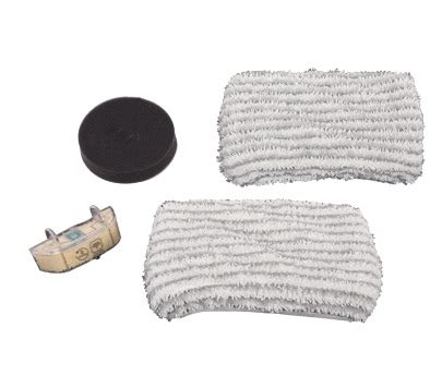 kit filtre 2x lingettes et filtre anti calcaire nettoyeur rowenta clean steam zr005801