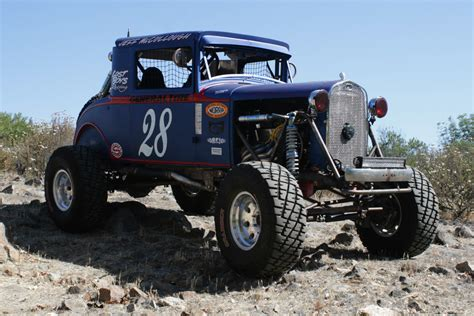 baja car big bad blue 28 willys race car goes for broke in norra