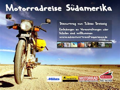 Motorradtour Um Die Welt by Motorrad Weltreise 28 000 Km Durch S 252 Damerika