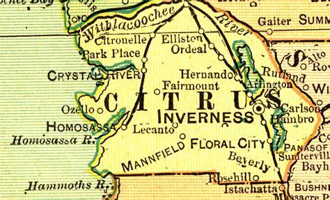 Citrus County Property Records Citrus County Plat Maps Images