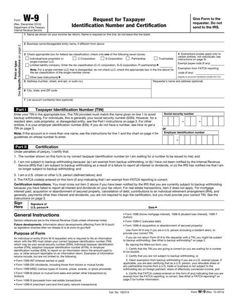 printable blank i 9 form blank w9
