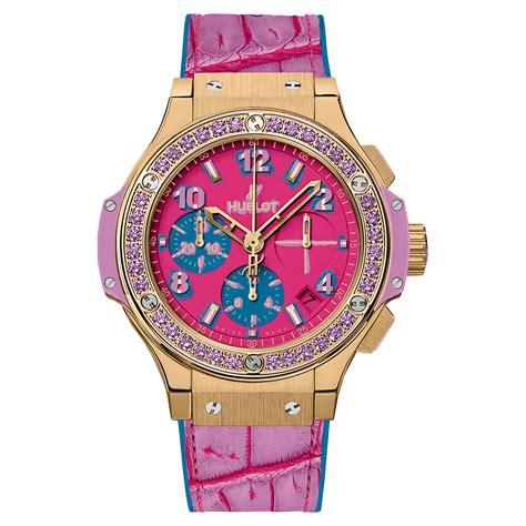 big bang pop 2361931834 hublot big bang pop art 341 vv 7389 lr 1205 pop15 yellow gold purple watch world s best