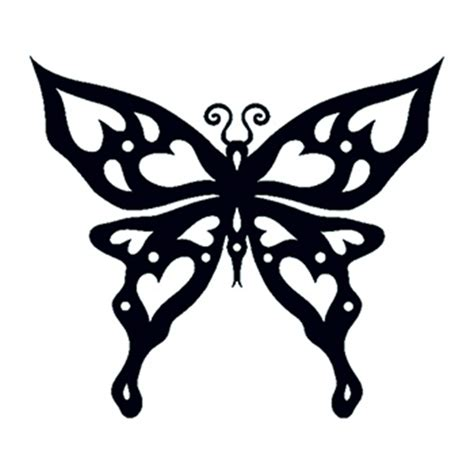 glow in the dark butterfly tattoo glow in the dark tribal butterfly temporary tattoo