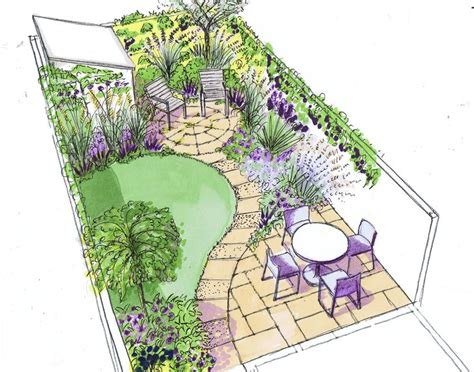 Backyard Ideas Layouts 25 Best Ideas About Small Garden Design On