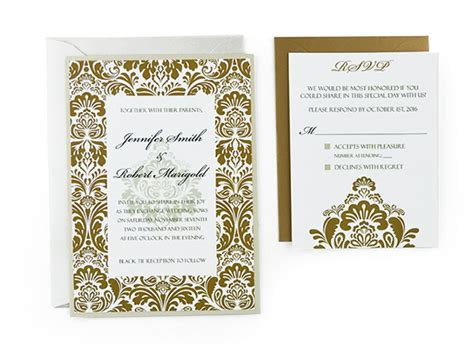 Wedding Invitation Card Exle by Bi Fold Wedding Invitation Templates Wedding Invitation