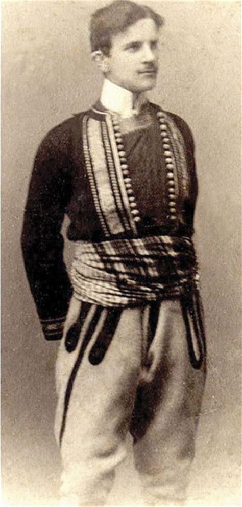 Serbia Nikola Tesla Nikola Tesla In Serbian National Costume