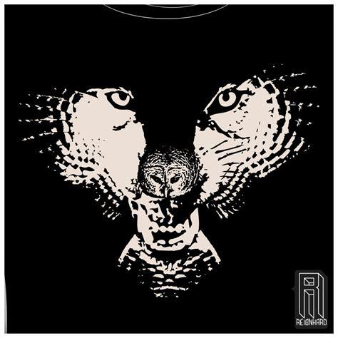 Md Owl Fit Xl reignhard h owl wolf owl illusion design on unisex t