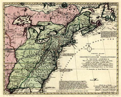 map of the us during the 1700s us maps prior to the 1700s cdoovision