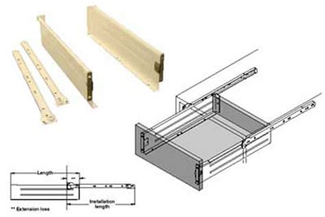 Kitchen Drawer Mechanism kitchen drawers for clever kitchens drawer storage pullout options