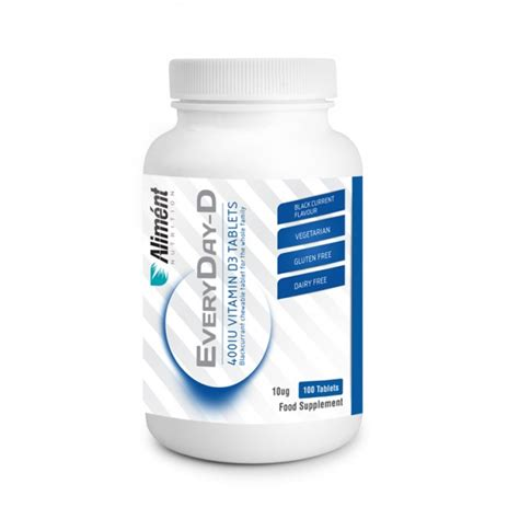 Vitamin Tablet everyday d 400iu vitamin d chewable tablets