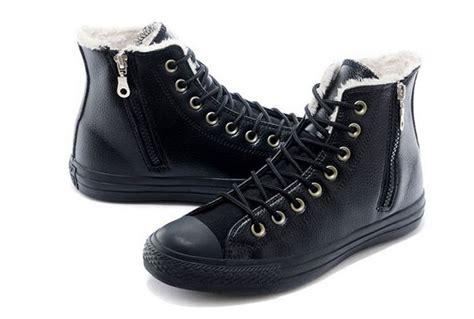 converse winter boots black converse winter boots wool inner ct as high side zip