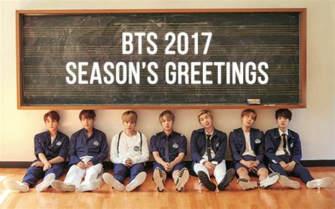 bts season greeting 2017 lets keep going forever