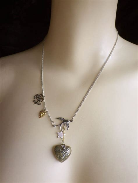 pinterest tattoo necklace top jewels necklace heart images for pinterest tattoos