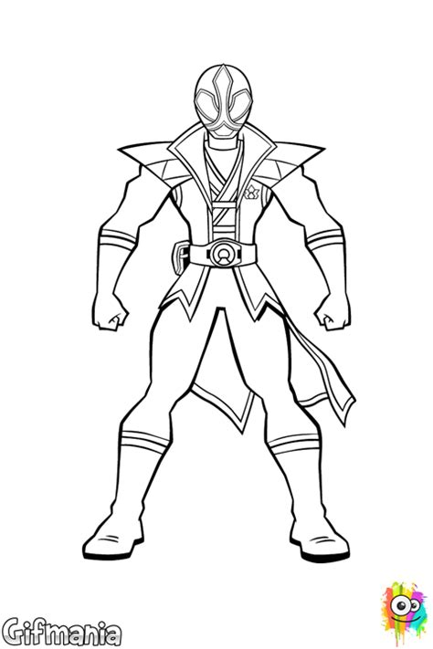 jayden the red ranger coloring page