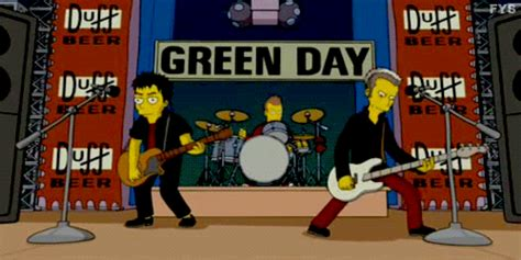 green day illuminati green day simpsons